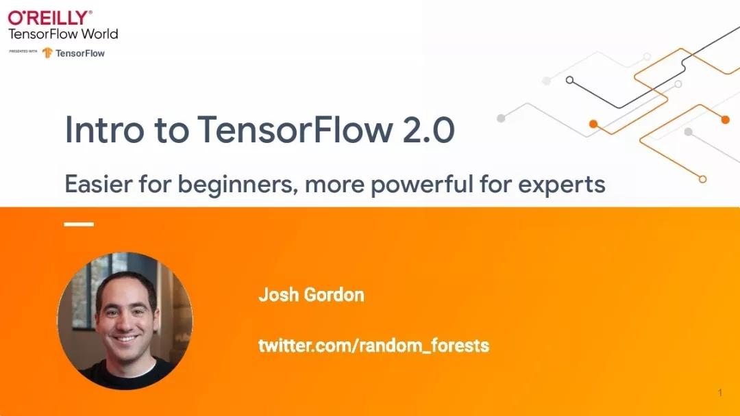 资源|谷歌Joshua Gordon 《TensorFlow 2.0讲解》附63页PPT下载